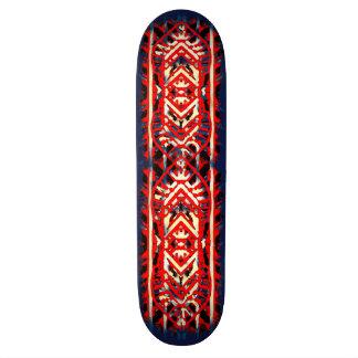 Nu One Red Skateboard 1