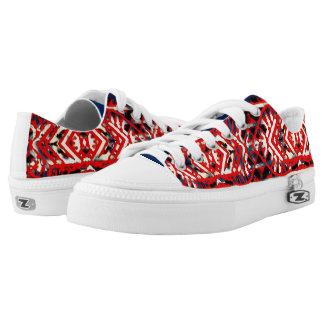 Nu One Red Xtra Style Low Top Sneakers
