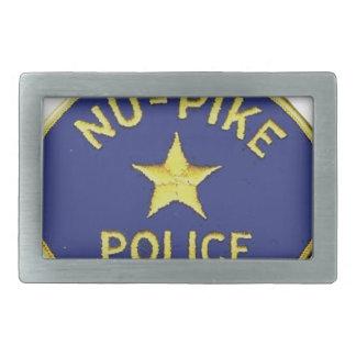 Nu-Pike Police Rectangular Belt Buckles