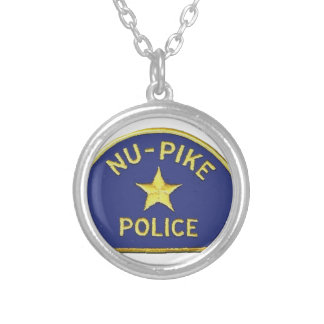 Nu-Pike Police Silver Plated Necklace