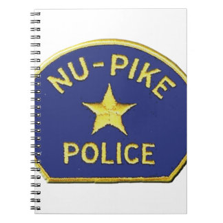 Nu-Pike Police Spiral Notebook