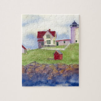 Nubble Light House York Maine Jigsaw Puzzle