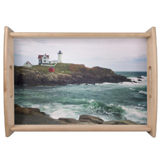 Nubble Light - York, Maine Serving Tray