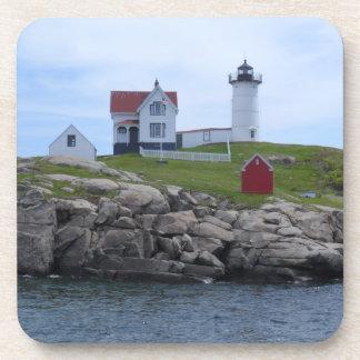 Nubble Lighthouse - Maine Beverage Coaster