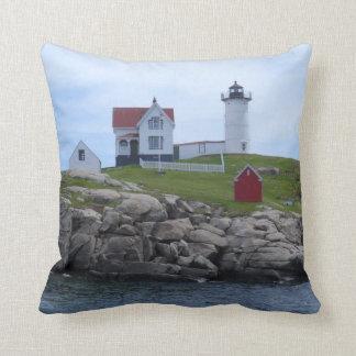 Nubble Lighthouse - Maine Cushion
