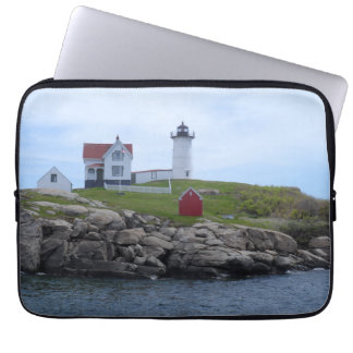 Nubble Lighthouse - Maine Laptop Sleeve