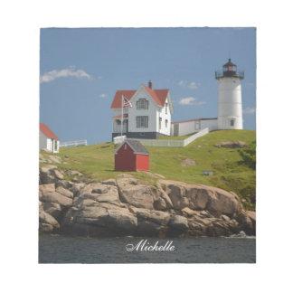 Nubble Lighthouse Notepad