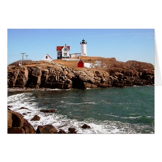 Nubble Lighthouse - York, Maine Card