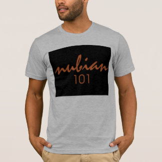 Nubian101 black T-shirt