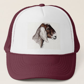 """Nubian Goat"" Animal Art Hat"
