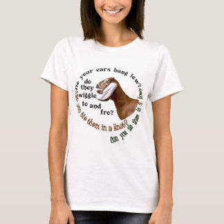 NUBIAN GOAT - DO YOUR EARS HANG LOW? T-Shirt