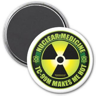 Nuc Med Tech 7.5 Cm Round Magnet