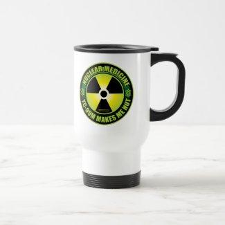 Nuc Med Tech Stainless Steel Travel Mug