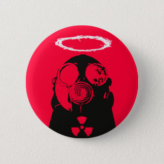 Nuclear 6 Cm Round Badge