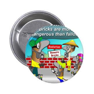 Nuclear Bricks Buttons