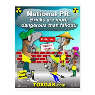 Nuclear Bricks Postcard
