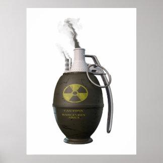 Nuclear danger poster