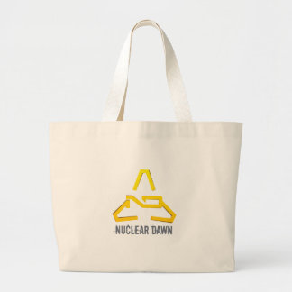 Nuclear Dawn Jumbo Tote Bag