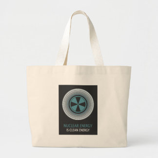 Nuclear Energy Is Clean Energy Canvas Bags