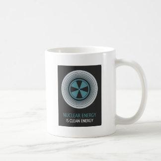 Nuclear Energy Is Clean Energy Basic White Mug