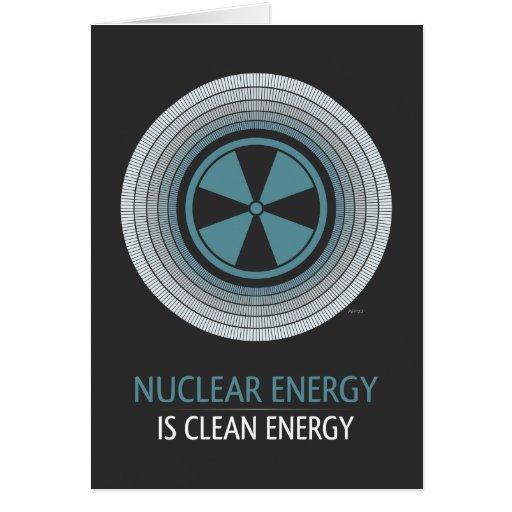 Nuclear Energy Is Clean Energy Cards