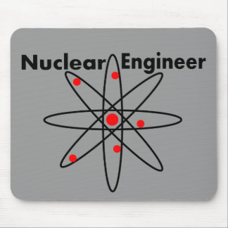 Nuclear Engineer T-shirts and Gifts Mouse Pads