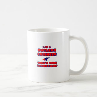 Nuclear Engineer .. What's Your Superpower? Basic White Mug