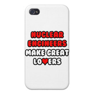 Nuclear Engineers Make Great Lovers iPhone 4 Cover