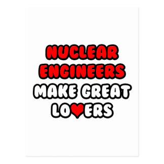 Nuclear Engineers Make Great Lovers Postcard
