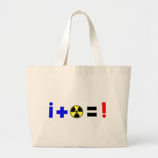 Nuclear Equation Jumbo Tote Bag