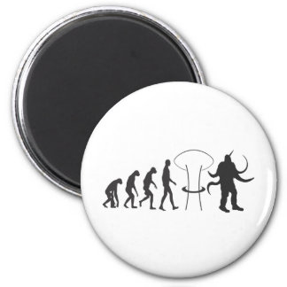 Nuclear Evolution 6 Cm Round Magnet