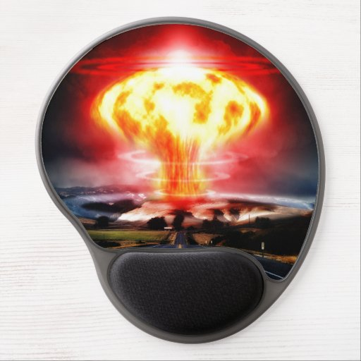 Nuclear Explosion Gel Mouse Pads