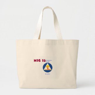 Nuclear Explosion Jumbo Tote Bag