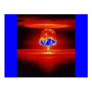 nuclear-explosion post card