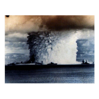 NUCLEAR EXPLOSION POST CARD
