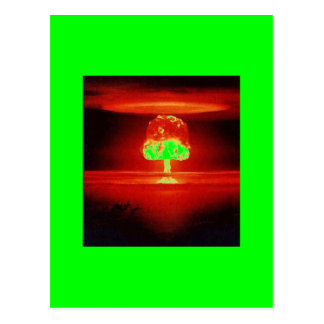 nuclear-explosion post cards