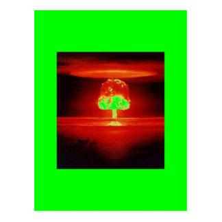 nuclear-explosion post card