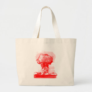 Nuclear explosion. tote bag