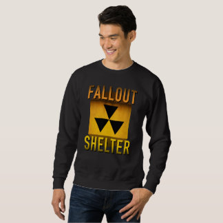 Nuclear Fallout Shelter Retro Atomic Age Grunge : Sweatshirt