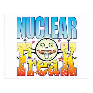 Nuclear Freaky Freak Postcard