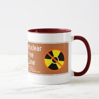 Nuclear Free Zone, Sign, California, US Mug