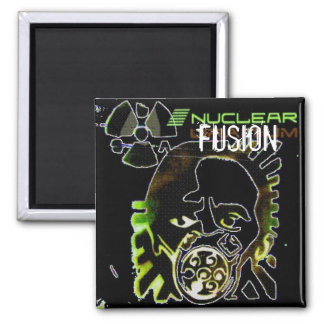 NUCLEAR FUSION SQUARE MAGNET