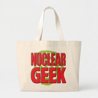 Nuclear Geek Tote Bags