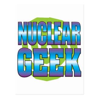 Nuclear Geek v3 Postcard