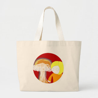 Nuclear Girl Tote Bags