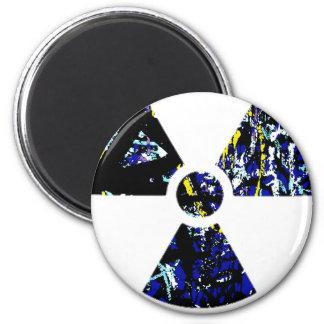 Nuclear Graffiti 6 Cm Round Magnet