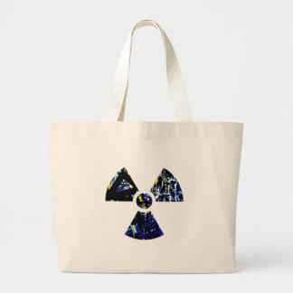 Nuclear Graffiti Large Tote Bag