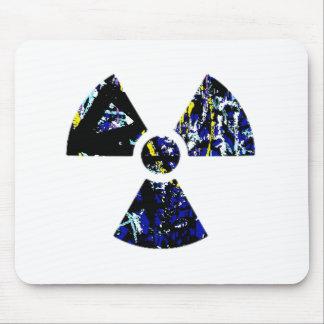 Nuclear Graffiti Mouse Pad