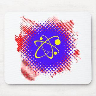 Nuclear Grunge Splash Mousepad