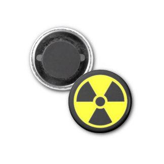 Nuclear Hazard 3 Cm Round Magnet